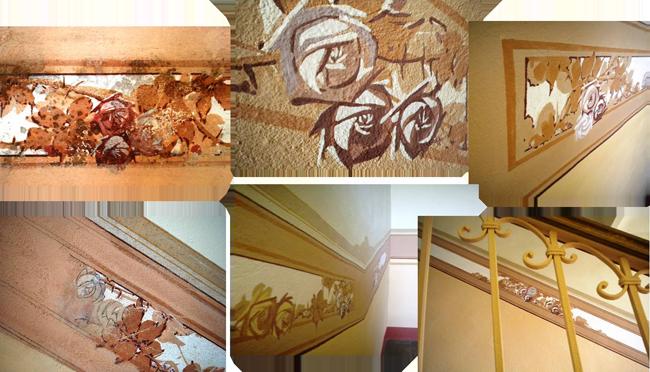 Conti s n c recupero affreschi lavorazioni su for Mobili stilizzati
